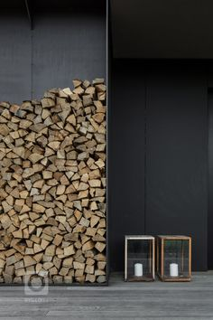 Wellness dům - MIRAMARI DESIGN Firewood, Deco, Studios, Wellness, Landscape, Projects, Gardens, Drive Way, Spaces