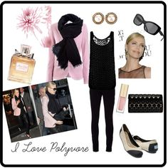 Chic Charlize Pretty in Pink, created by divadebbi on Polyvore