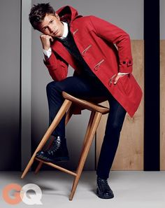 Ansel Elgort in GQ's Fall Fashion Preview 2014