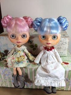 Custom Blythe Doll OOAK Art Doll Named Skylar Snow by EmmyB.lythe