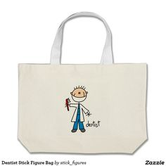 Dentist Stick Figure Bag