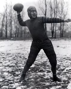 Curly Lambeau modeling the new Green Bay Packers uniforms, 1923 - RB - Nfl Football Teams, Packers Football, Football Photos, Football Baby, Sports Photos, Football Uniforms, Green Bay Packers Uniform, Go Packers, Green Bay Packers Fans