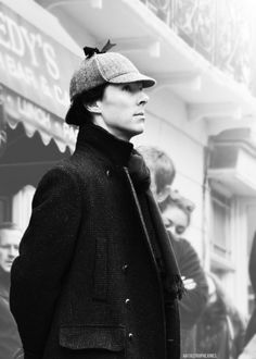 Sherlock in black and white. http://pinterest.com/aggiedem/sherlock-addict/ http://pinterest.com/aggiedem/sherbatched-or-cumberlocked/