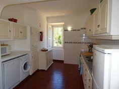 Keuken geverfd in Annie Sloan Chalk Paint Original White