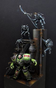 The Hunter Becomes the Hunted - Conversion Corner - Spikey Bits