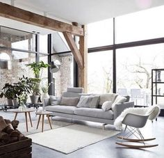 Chunky recycled timber beams for external structures.
