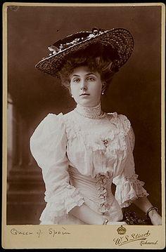 Queen Victoria Eugenie of Spain.