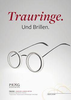 Präg Dornbirn Anzeigenkampagne | zurgams Corporate Design, Design Thinking, Web Design, Marketing, Glasses, Product Engineering, Communication, Eyewear, Design Web