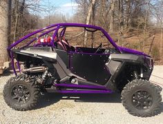 RZR XP with purple cage. Would try to build one for my uncle's RZR