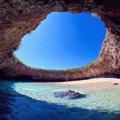 Who would you swim with? Islas Marieta