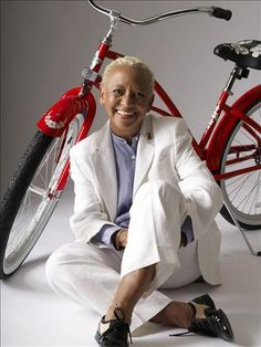 "Poet Nikki Giovanni  - her poem ""ego trippin"" got me through high school"