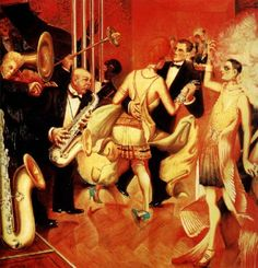 What kind of music people danced to in 1920s Germany and what influenced it.
