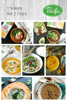 7 Soups for 7 Days