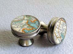 Map Drawer Pulls