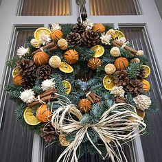 Christmas Scented Fresh Fir Door Wreath