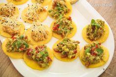 Mini domáce tortilly s guacamole (fotorecept) - Recept