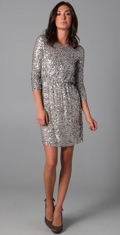 This dress is SO cute. Very New Years Eve... a consideration? It would be very flattering with nice heels and a jacket.