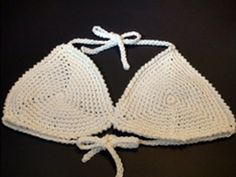 Art of Crochet by Teresa - Crochet Bikini Top - Triangle Shape Motif