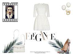 """Elegance(?)"" by rarah-chan on Polyvore featuring moda, Alexander McQueen, Christian Louboutin, Bueno e Kenneth Jay Lane"