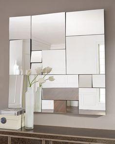 Single Silver Teardrop Panel Mirror 6 25x58 75
