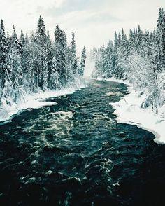***Pisew Falls Provincial Park (Manitoba) by RÉJEAN BRANDT (@rejbrandt) on Instagram Landscape Photography, Nature Photography, Beautiful Places, Beautiful Pictures, Winter Magic, Winter Beauty, Winter Landscape, Winter Scenes, Natural World