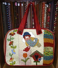 Bolsa menina flores | Aline Küster | Flickr