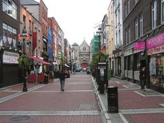 city street scape | Ireland pic 1 - School of Social Work - Grand Valley State University