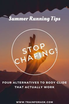 When running in the hot and humid weather of the summer, chafing can be a big problem for runners. These 4 body glide alternatives should help with your summer running problems. Jogging For Beginners, Beginners Cardio, Running Plan, Running For Beginners, How To Start Running, Running Tips, Running Training Programs, Race Training, Interval Cardio