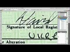 A Valid Legal Investigation of Obama's Birth Certificate Showing Proof of Fraud - YouTube