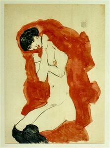 Egon Schiele - Untitled (8791)