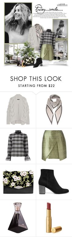 """""""Saturday: The Perfect Day"""" by thewondersoffashion ❤ liked on Polyvore featuring Donna Karan, Loro Piana, CC, Exclusive for Intermix, Romeo Gigli, Rochas, Yves Saint Laurent and Too Faced Cosmetics"""