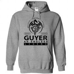 GUYER an endless legend - #hoodie allen #striped sweater. I WANT THIS => https://www.sunfrog.com/Names/guyer-SportsGrey-Hoodie.html?68278