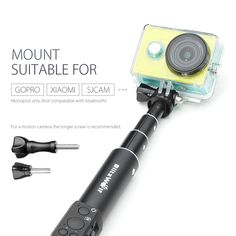 Interchangeable Accessories Long Screw With Cap For Blitzwolf Bluetooth/Wired Selfie Stick Monopod