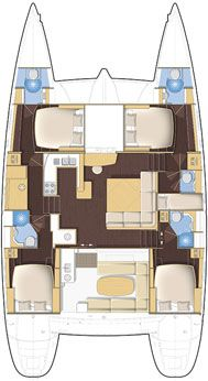 Charter Newsletter: Book 5 Cabin Lagoon For Xmas/New Year 2012 Sailing Catamaran, Yacht Boat, Sailing Ships, Sailboat Interior, Yacht Interior, Yacht Design, Boat Design, Small Yachts, Cool Boats