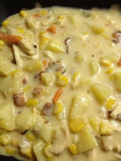Recipe - Crock-Pot The Original Slow Cooker- Chicken, Corn, And Beer-Cheddar Chowder! --- Can you say Delicious???? :)