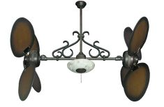 Room Design: Unique Ceiling Fans Like Header Paddle Fixture Of It's Propeller Made With Variant Size Designed With Brown Color from Decorating Room With  distinct Ceiling Fans
