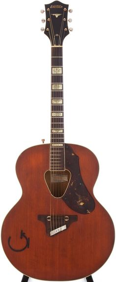 1955 Gretsch 6022 Rancher Orange Acoustic Guitar