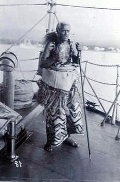Samoan King Mataafa ... can't believe I am a descendant of this mans loins... LOL