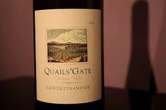 Quails Gate Geuztraminer. Best white wine <3
