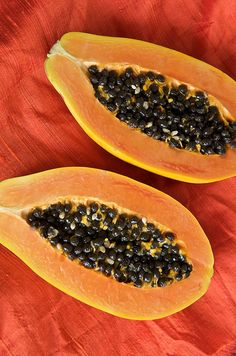 The top 5 health benefits of papaya fruit to improve your skin, relieve digestive problems, protect your eyes and heart and even lower your risk of cancer.
