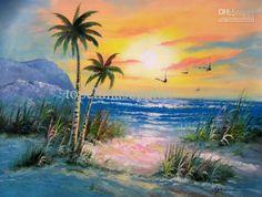 beautiful beach scene