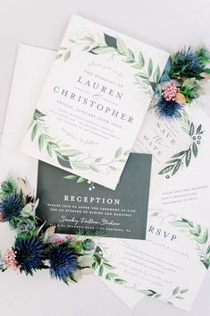 This spring wedding stationary featured watercolor invitations. The modern floral design was so beautiful for a bright and colorful wedding day. Check out the Smoky Hollow Studios wedding on our blog! Wedding Stationary, Wedding Invitations, Unique Invitation Suites, Colorful Weddings, California Wedding Venues, Spring Wedding Inspiration, Destination Wedding Planner, Watercolor Invitations, Bridesmaids And Groomsmen