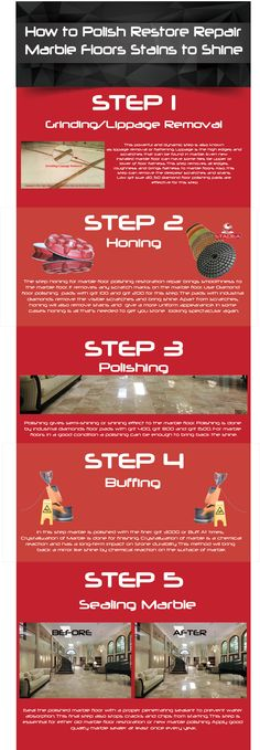 How do you polish a marble floor to make marble shine. How to get stains out of marble by polish repair restore marble floors. How to Shine Marble Floors.