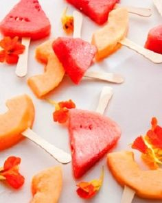 cool off with fresh fruit popsicles