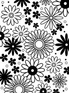 Darice Embossing Folder - Flower Frenzy Background