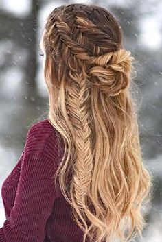 33 Cool Winter Hairstyles For The Holiday Season 2f696baa054f