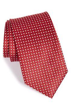 John W. Nordstrom® 'Beckham' Check Silk Tie (X-Long)   Nordstrom
