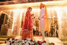 An Extraordinary Wedding In Rajasthan With The Bride In Stunning Wedding Outfits! Check out photos, ideas & stories shared by Bride & Groom. Indian Bridal Photos, Banarasi Lehenga, Indian Wedding Couple Photography, Best Bridal Makeup, Wedding Couples, Wedding Outfits, Wedding Story, Bride Groom, Wedding Inspiration