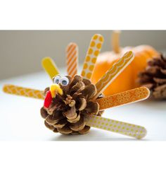 5 Adorable Thanksgiving Centerpieces Your Kids Can DIY | Keep children occupied with these projects while you focus on making the meal.