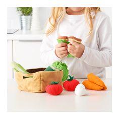 DUKTIG 14-piece vegetables set - -